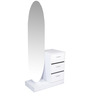 Dressing Table in White Colour by Parin