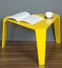 Dritto Coffee Table in Yellow Colour by DesignBar