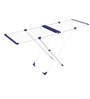Gimi Stendissimo Steel White Clothes Dryer