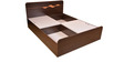 Swirl Dual Finish Queen Bed with Storage by HomeTown