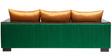 Durja Three Seater Sofa in Walnut Colour by Furnicheer