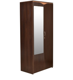 Swirl Dual Finish Double Door Wardrobe by HomeTown