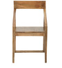 Dulwich Solid Wood Dinning Chair in Natural Finish by TheArmchair