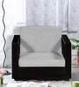 DuPont One Seater Sofa in Espresso Walnut Finish by Woodsworth