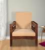 Durham One Seater Sofa in Provincial Teak Finish by Woodsworth