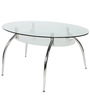 Duston Four Seater Dining Table in Silver Colour by Godrej Interio