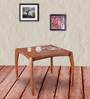 Dvina Coffee Table in Natural Sheesham Finish by Woodsworth