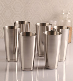 Dynamic Store Classy Stainless Steel 750 ML Tumbler - Set Of 6