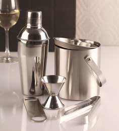 Dynamic Store Stainless Steel Bar Set - Set of 5