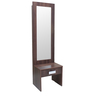 Dylan Dressing Table in Walnut & Dream White Colour by Crystal Furnitech