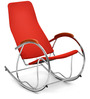 Dylan Rocking Chair in Red Colour by Nilkamal