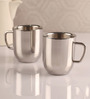 Dynore Double Wall Large Cappucino Mugs  - Set of 2