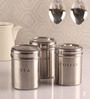 Dynore Silver 900 Ml Canister - Set of 3