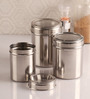 Dynore Silver Canister - Set of 3
