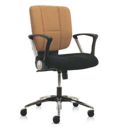 E -Pro I Series D Mid Back Office Chair in Dual Tone Colour by BlueBell Ergonomics