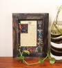 E-Studio Brown Wooden 7 x 9 Inch Frame Wall Hanging