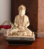 E-Studio Multicolor Marble Meditating Hanumaan Showpiece