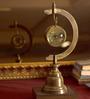 E-Studio Multicolor Steel Magnified Lens Desk Clock