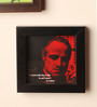 E-Studio Wooden 5 x 5 Inch The Godfather Framed Wall Print