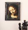 E-Studio Wooden 9 x 11 Inch Madonna Frame Wall Hanging