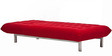 Easy lounge Daybed in Red Colour by Furny