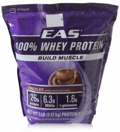 EAS 100% Whey Protein-Chocolate (5 Lbs )