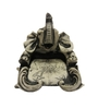 Earth Multicolour Polyresin Elephant Slip Holder Showpiece