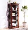 Cromwell Book Shelf Cum Display Unit in Provincial Teak Finish by Amberville