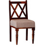 Millicent Dining Chair in Honey Oak Finish by Amberville