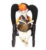 Earth Multicolour Polyresin Rocking Chair Ganesha Statue