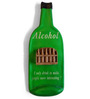 Earth Alcohol Bottle Quote Wall Accent Piece