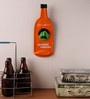 Earth Multicolour Polyresin Drinking Problem Bottle Quote Wall Hanging