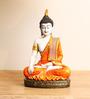 Pravara Diamond Sitting Buddha Statue in Multicolor by Mudramark