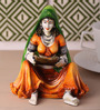 Upasri Traditional Lady with Balance Statue Showpiece in Multicolor by Mudramark