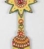 Ecraftindia Multicolour Papier Mache Bell Key Holder