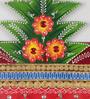 Ecraftindia Multicolour Papier Mache Tree Design Key Holder