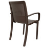 Ecstasy Elegant Chair Set of Two in Brown Colour by Cello
