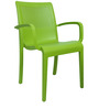 Ecstasy Elegant Chair Set of Two in Green Colour by Cello