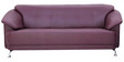 Edo Three Seater Sofa in Maroon Colour by Furnitech