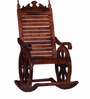 Harold Rocking Chair in Honey Oak Finish by Amberville