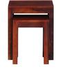 Enumclaw Set of Tables in Honey Oak Finish by Woodsworth