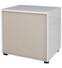 Edwina High Gloss Night Stand in White Colour by HomeTown