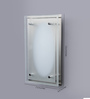 Eglo White Glass Wall Mounted Light