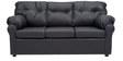 Elzada Comfy Three Seater Sofa in Black Colour by Furny