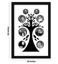Urban Living Family Tree Hoto Frame To Hold Multiple
