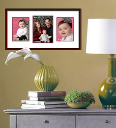 Elegant Arts And Frames Red Metal 21 X 1 X 11 Inch Collage Photo Frame