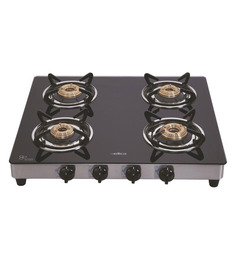 Elica 594 Ct Vetro Four Burner Gas Stove