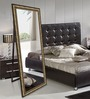 Elegant Arts & Frames Brown Wooden Decorative Synthetic Full Length Dressing  Mirror