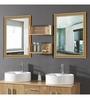 Caistor Bath Mirror in Golden by Amberville