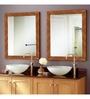 Arundel Bath Mirror in Orange by Amberville